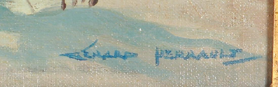 Gerard Perrault Canadian Winter Landscape Painting - 3