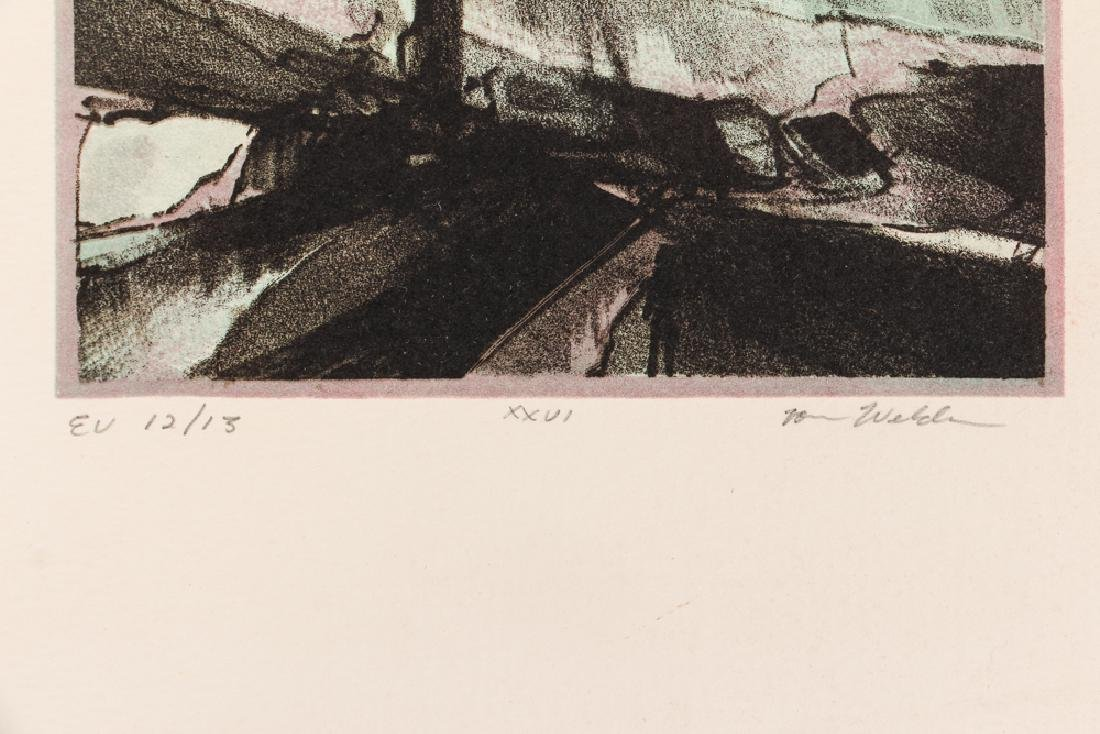 3 Assorted Landscapes on Paper: Schufinsky, Capanni, & - 7