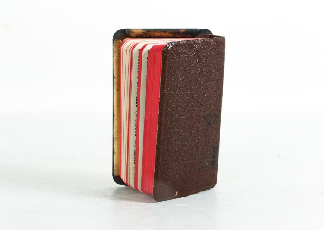 World War 2 Steel Covered Bible and Normandy Invasion - 3