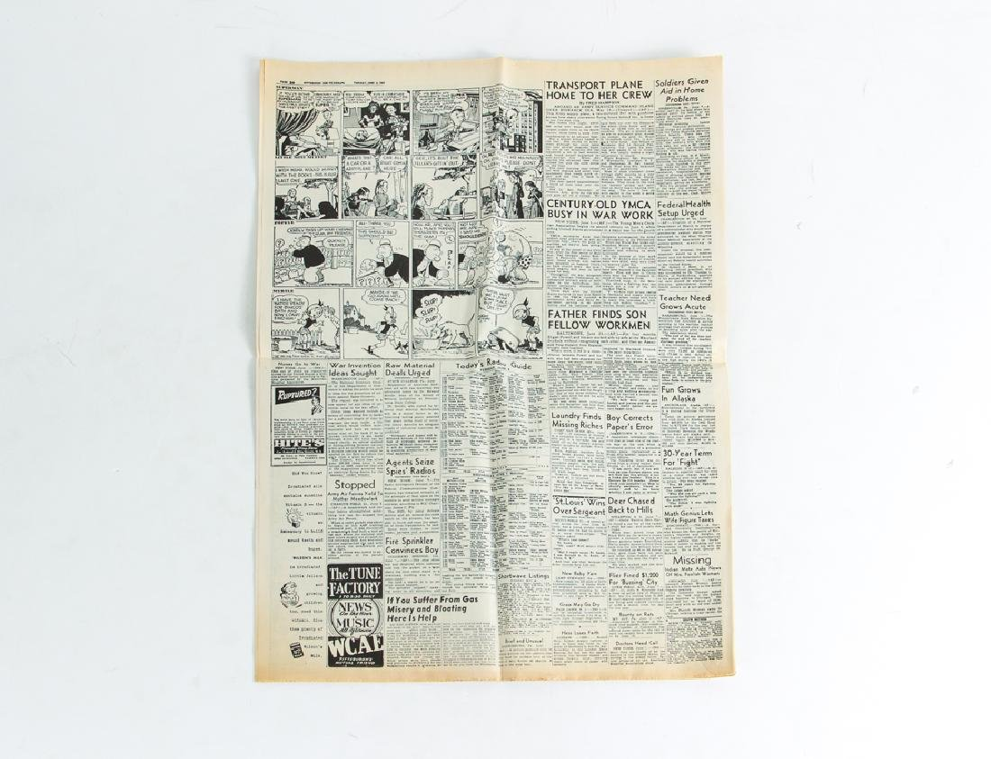 World War 2 Steel Covered Bible and Normandy Invasion - 6