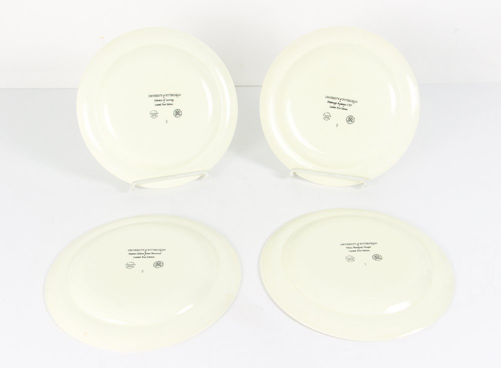 Four Pittsburgh Themed Plates By Wedgwood - 2
