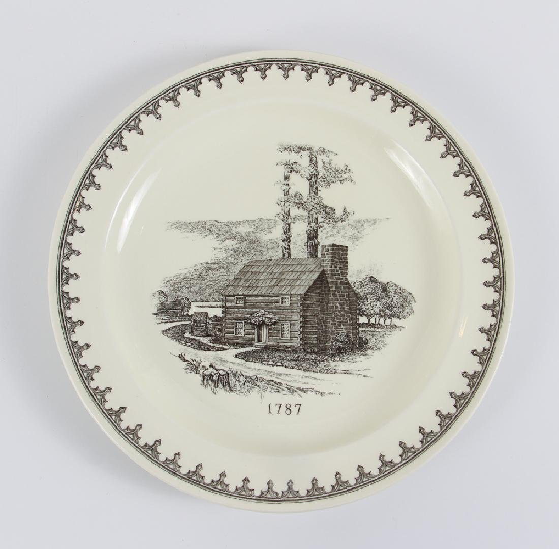 Four Pittsburgh Themed Plates By Wedgwood - 3