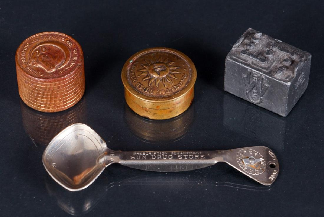 Ten Object Form Ephemera Pieces - 5