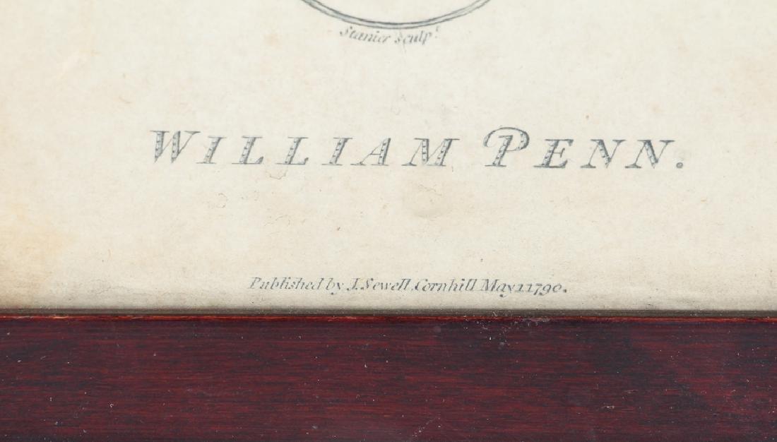 Early William Penn Steel Engraving - 3