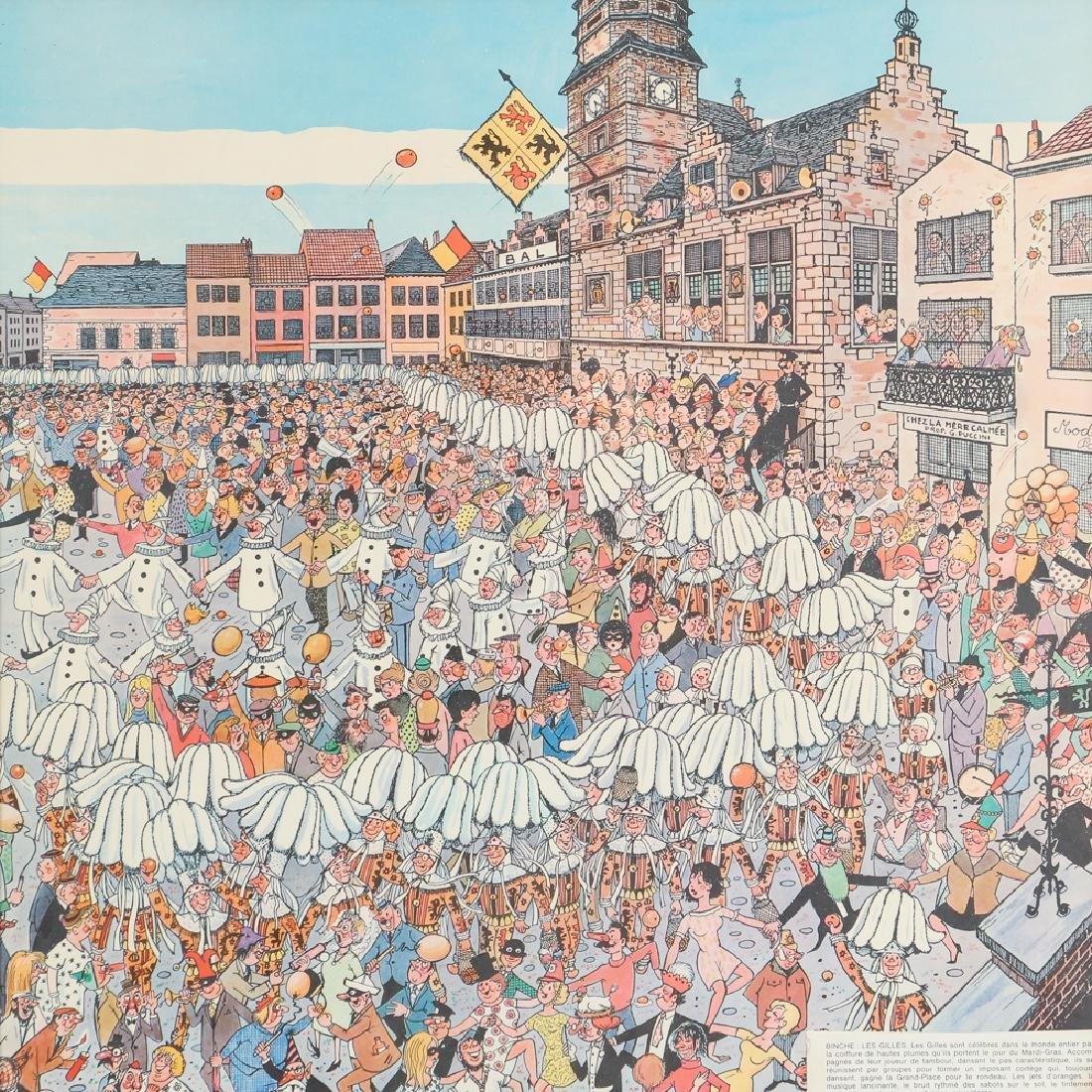 Two Mid Century Belgian Cartoons