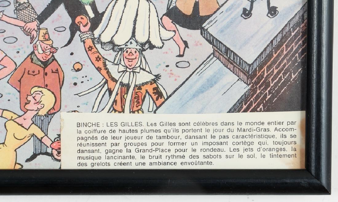 Two Mid Century Belgian Cartoons - 3
