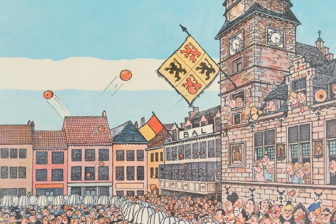 Two Mid Century Belgian Cartoons - 5