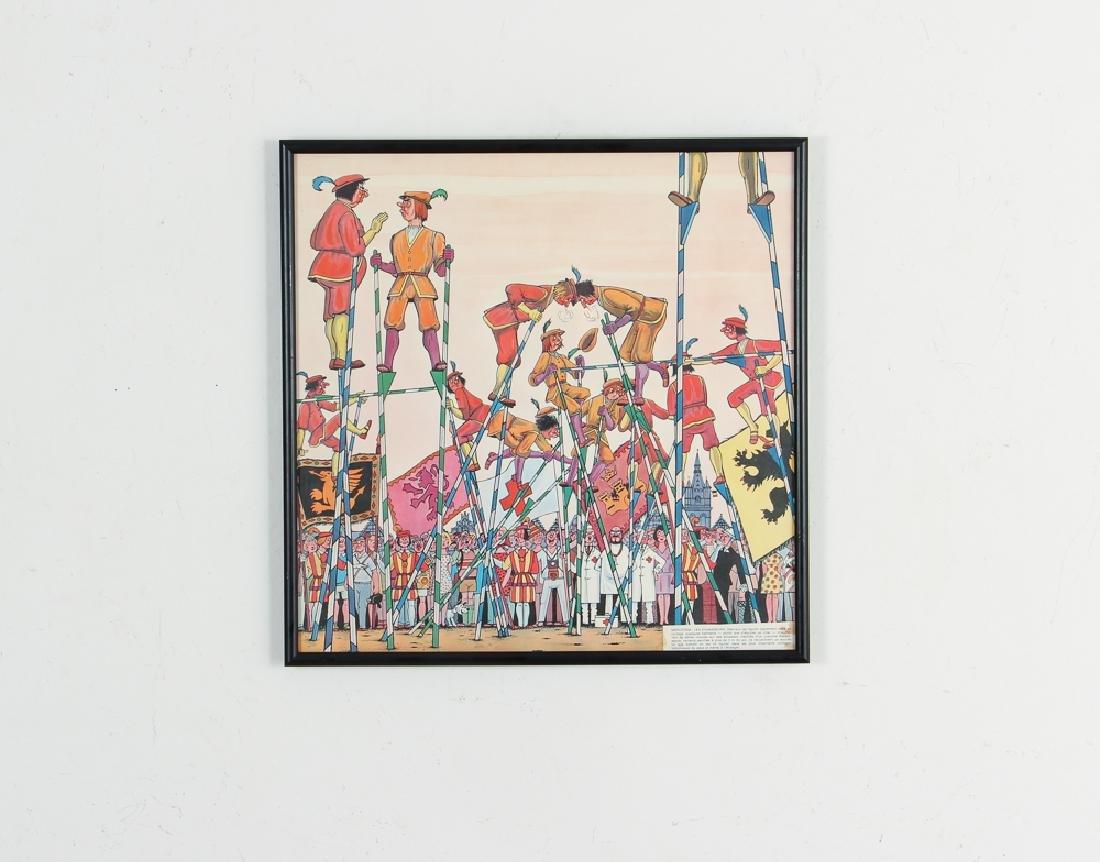 Two Mid Century Belgian Cartoons - 6