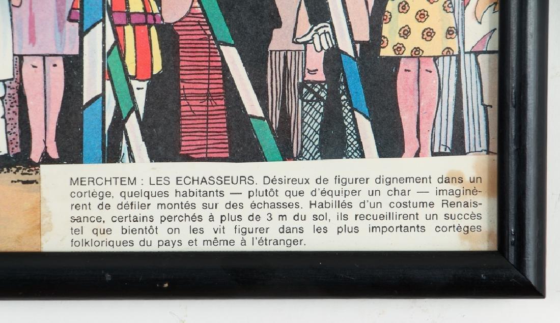 Two Mid Century Belgian Cartoons - 8