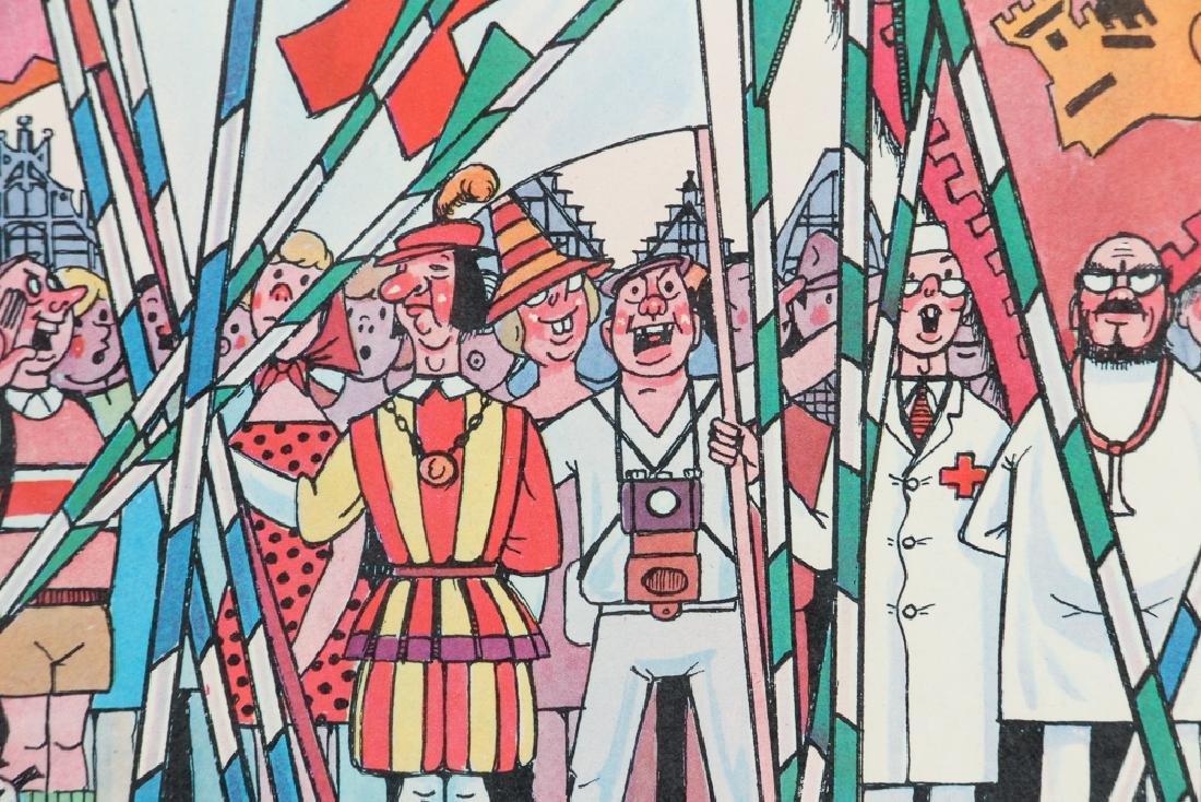 Two Mid Century Belgian Cartoons - 9