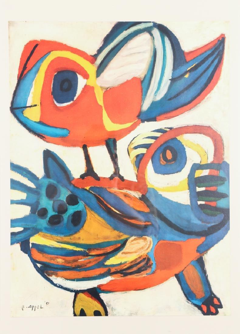 Karl Appel Poster