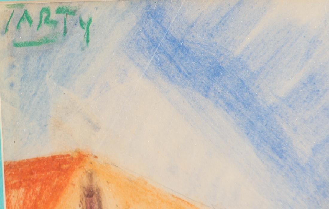 Vincente CLAVO GIL AKA Vincent Tarty watercolor Coastal - 3
