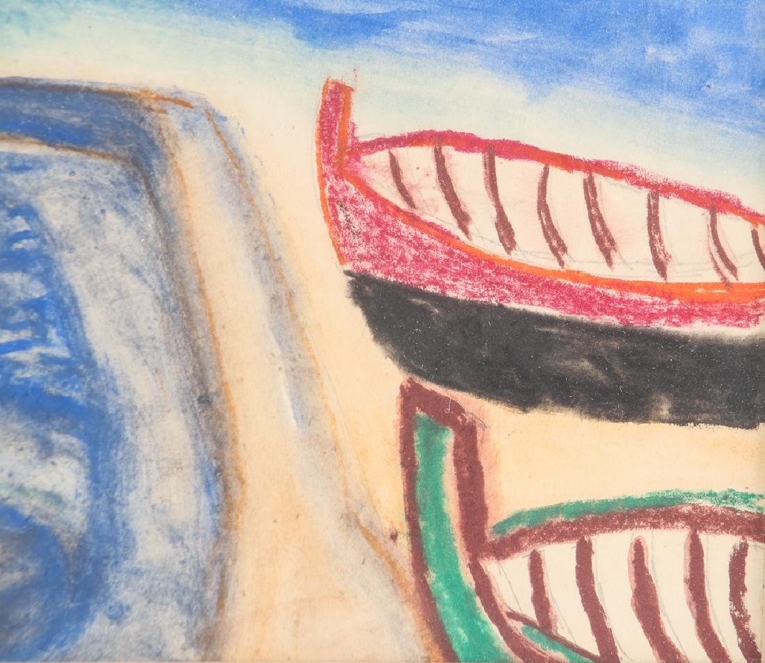 Vincente CLAVO GIL AKA Vincent Tarty watercolor Coastal - 4