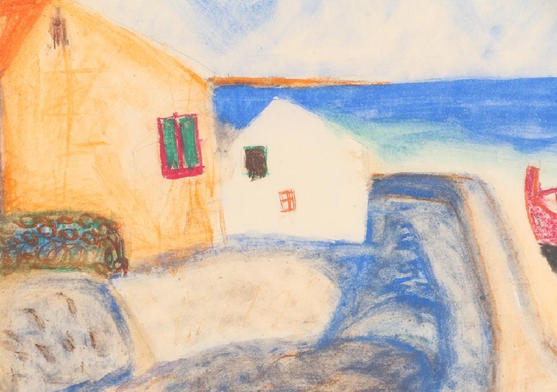 Vincente CLAVO GIL AKA Vincent Tarty watercolor Coastal - 5