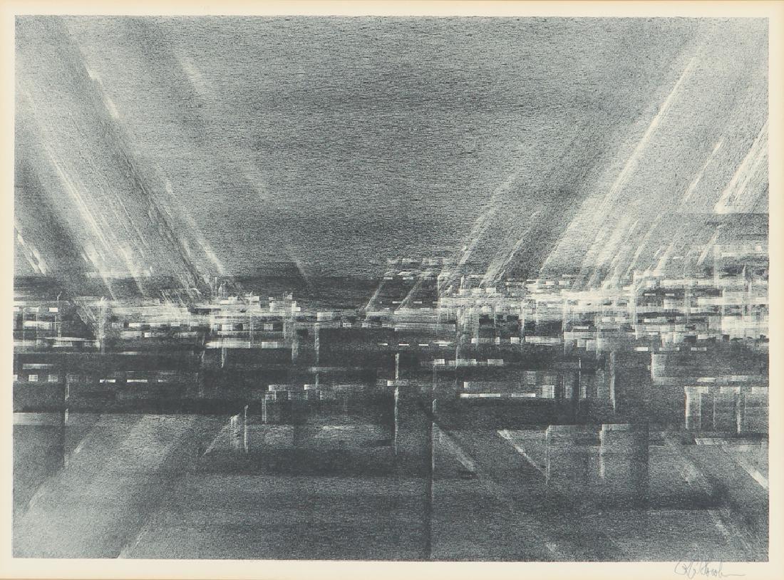 Associated Artist Industrial Lithograph by Florsheim