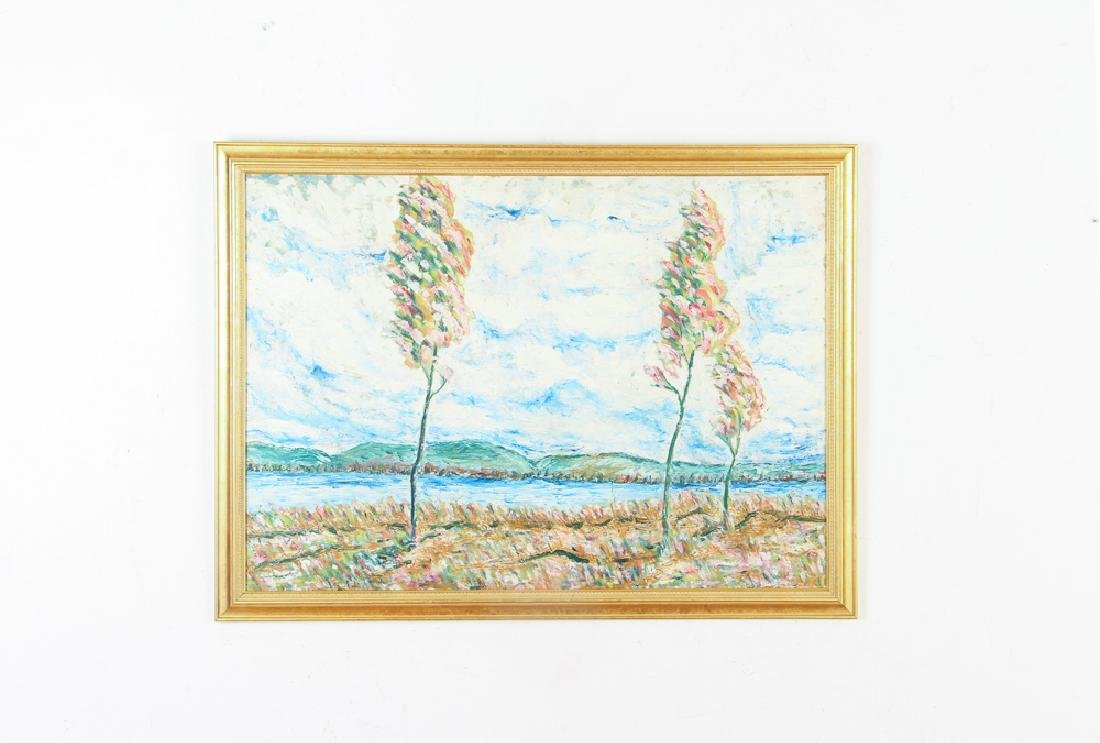 George Grouse Impressionistic Wetlands Landscape - 2