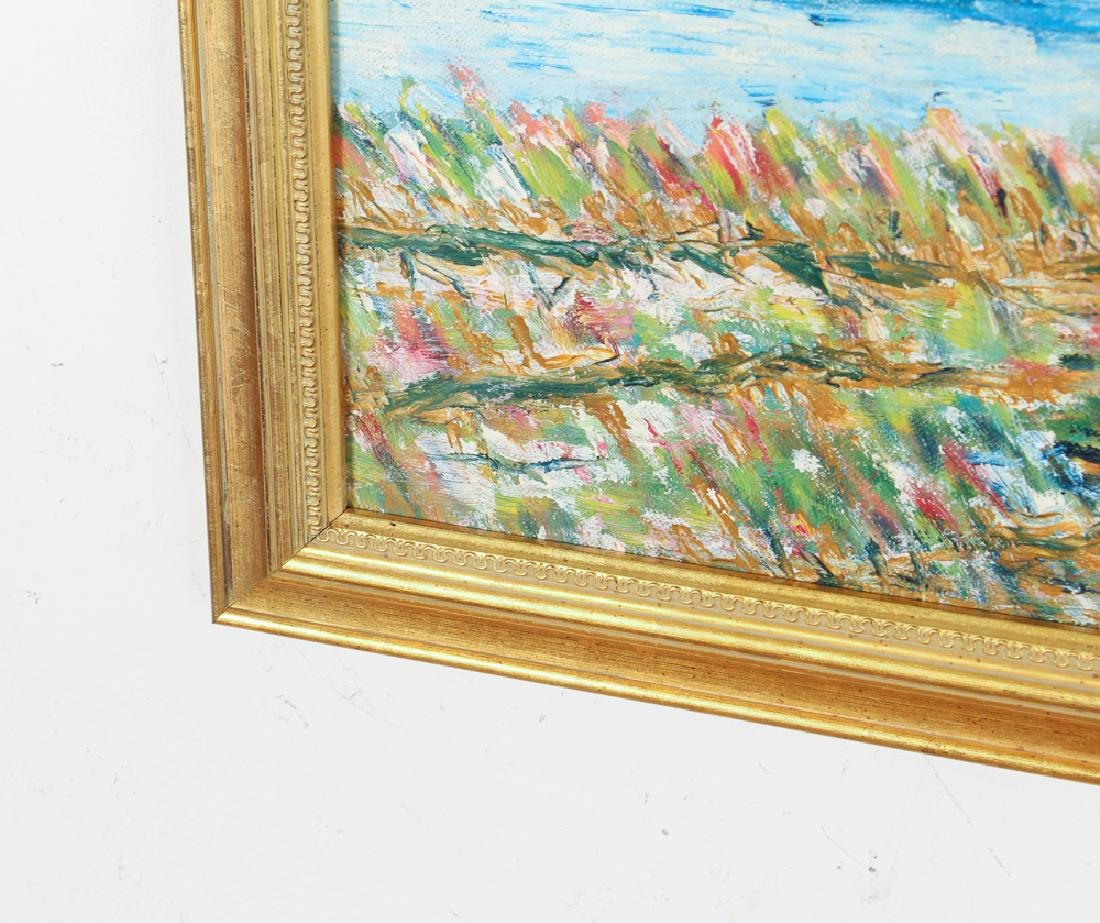 George Grouse Impressionistic Wetlands Landscape - 5