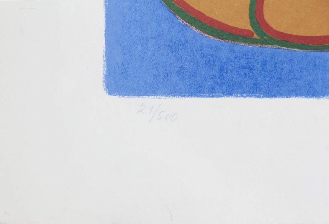 Henry Heerup 1982 lithograph Pigen og Hvepsemanden - 5