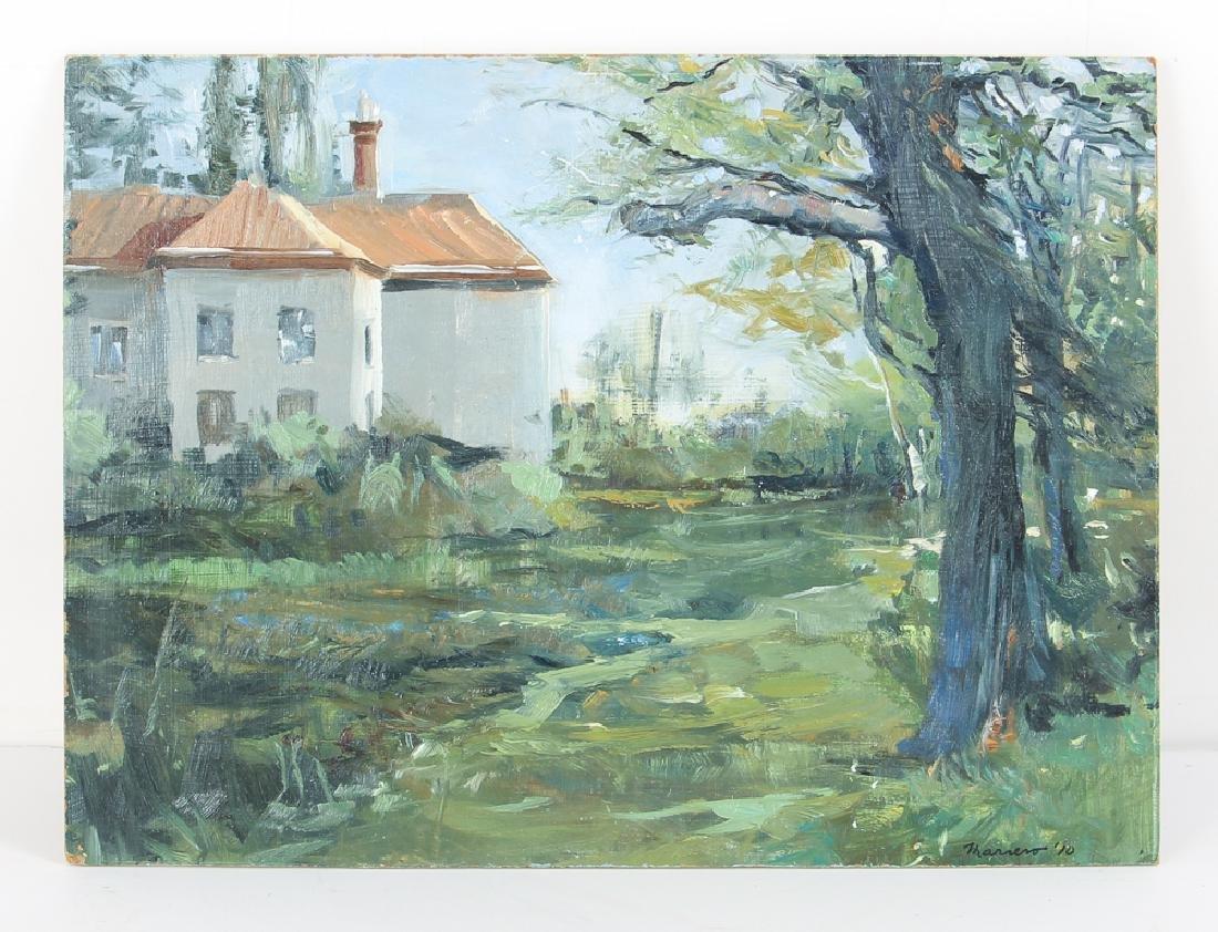 Onelio Marrero Country House Landscape Painting - 2