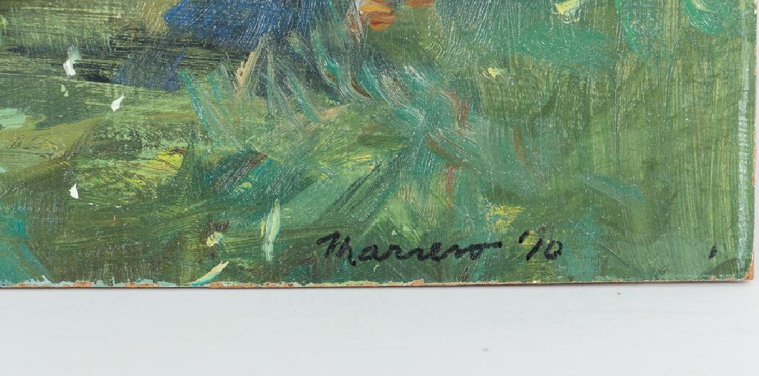 Onelio Marrero Country House Landscape Painting - 3