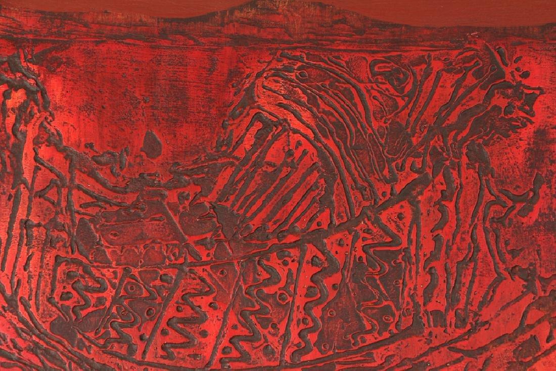 Watfa Midani mixed media Abstract painting - 5