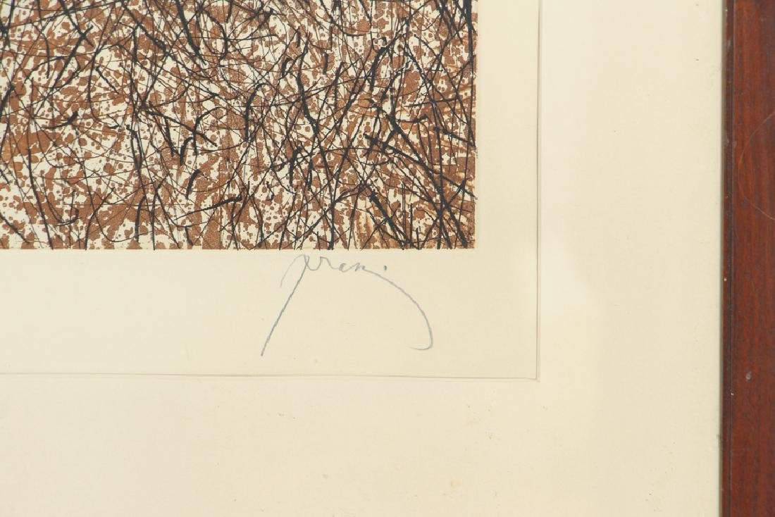 Mario Prassinos Abstract Etching - 3