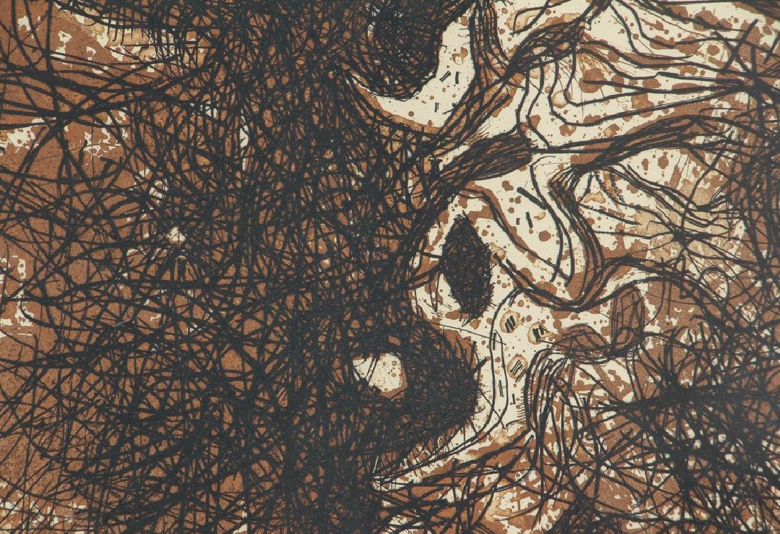 Mario Prassinos Abstract Etching - 5