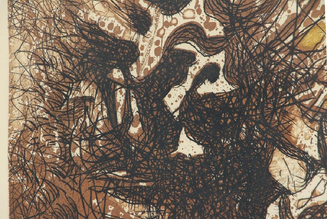 Mario Prassinos Abstract Etching - 6