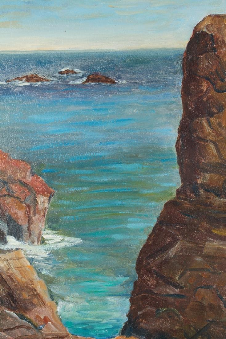 F. D. Buell Painting Springhead Chasm Ogunquit Maine - 4
