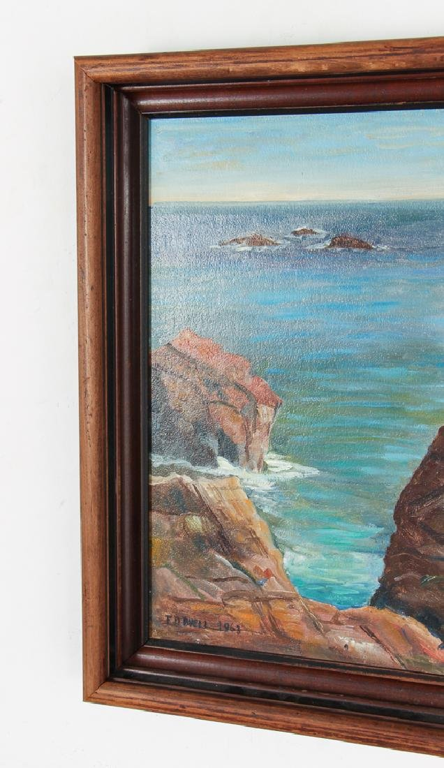 F. D. Buell Painting Springhead Chasm Ogunquit Maine - 5