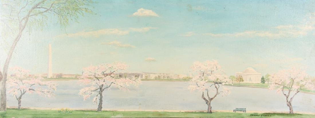 Washington D.C. Landscape Painting by John C. Close