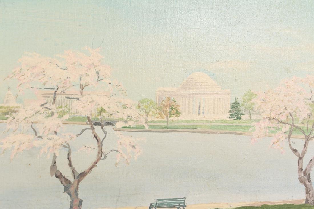 Washington D.C. Landscape Painting by John C. Close - 4