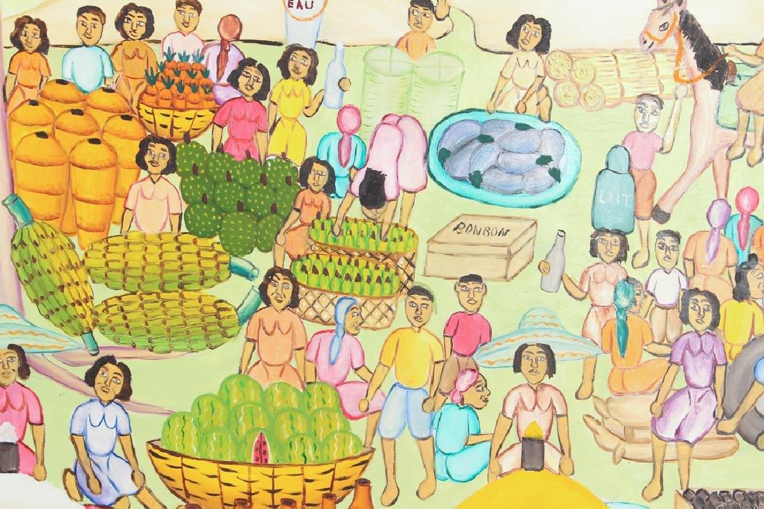 Alexandre Gregoire Untitled Haitian Market Scene - 5