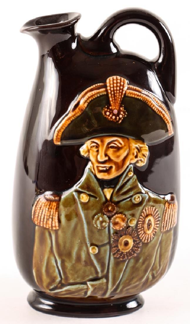 Lord Nelson Dewars Whiskey Bottle, Doulton Lambeth
