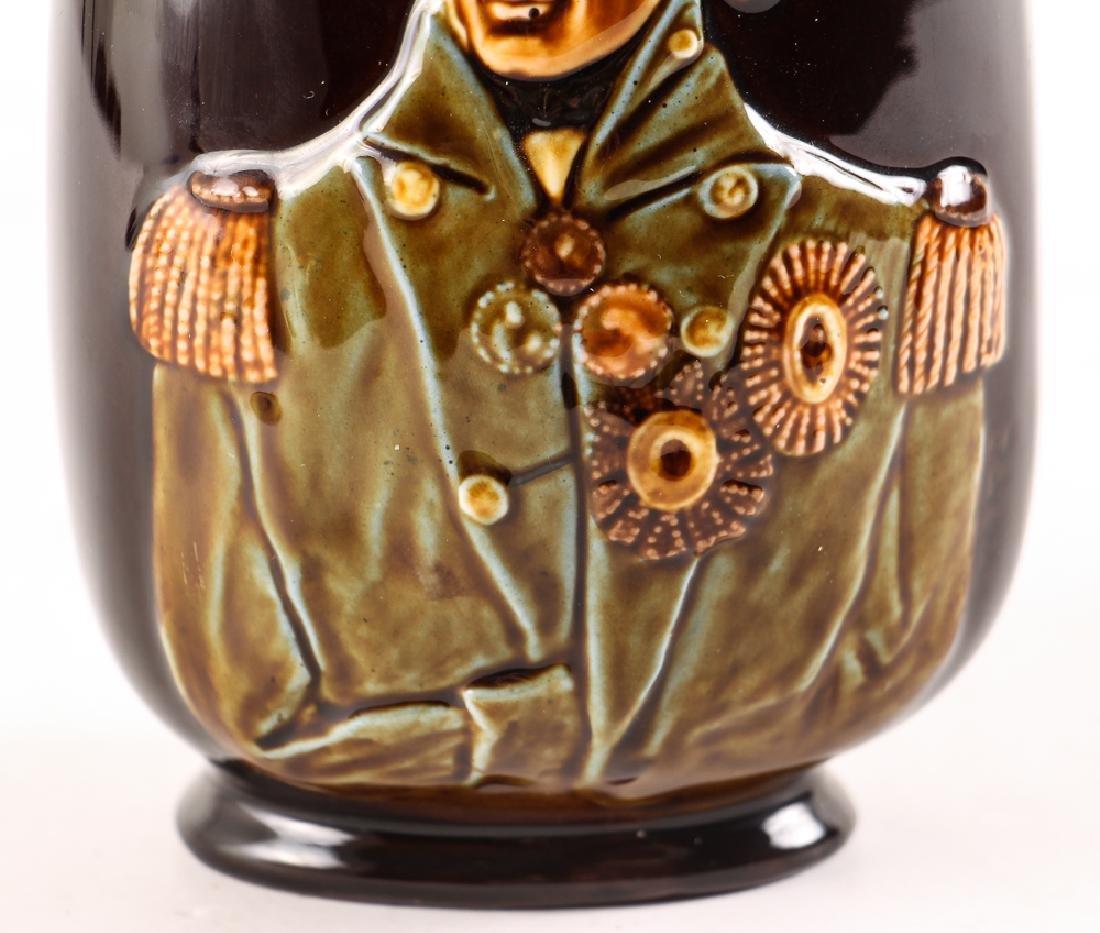 Lord Nelson Dewars Whiskey Bottle, Doulton Lambeth - 4