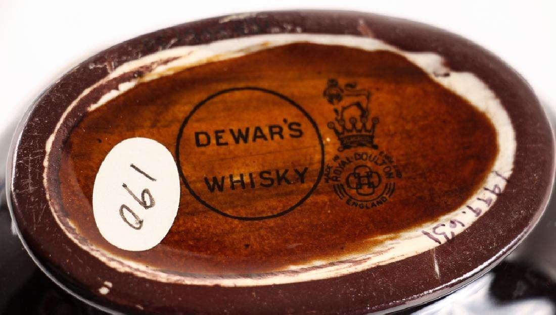 Lord Nelson Dewars Whiskey Bottle, Doulton Lambeth - 8