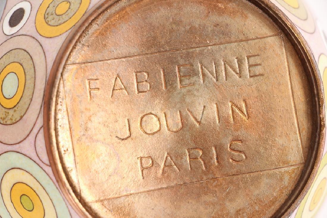 Pair Fabienne Jouvin Rondo Cloisonne Jars - 7