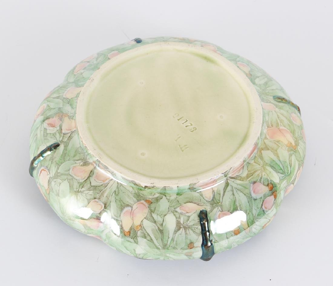 German Art Nouveau Dragonfly Themed Bowl - 3