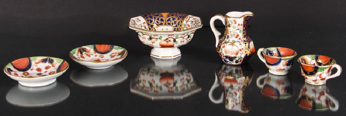Miniature Imari Style China Set