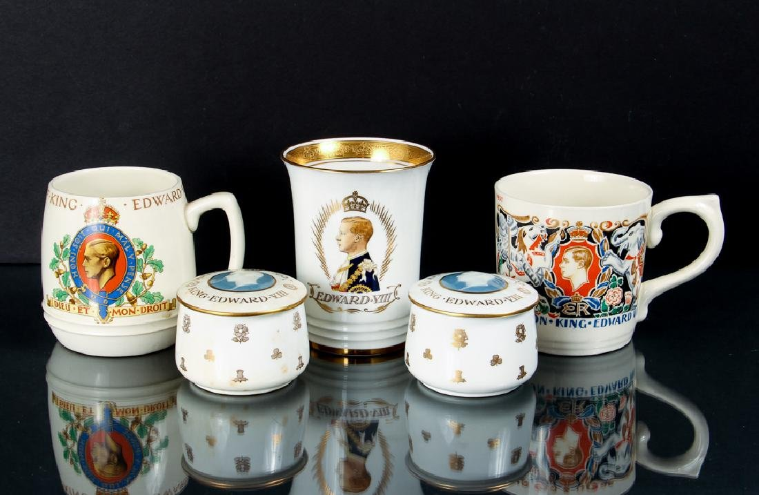 Five Edward VIII Coronation Souvenirs