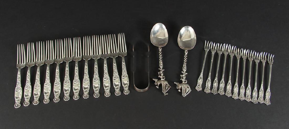 Large Group of Miscellaneous Silver Items