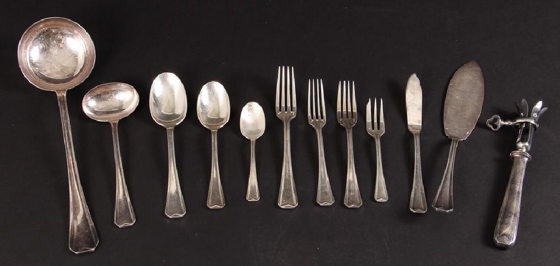 Large Christofle Silver Plated Flatware Set - 4