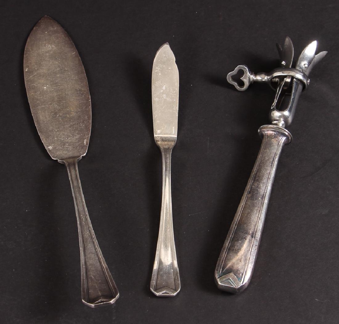 Large Christofle Silver Plated Flatware Set - 9