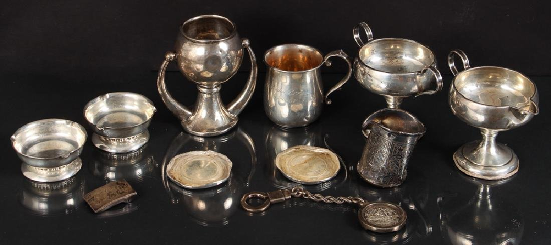 Group of Miscellaneous Scrap Silver