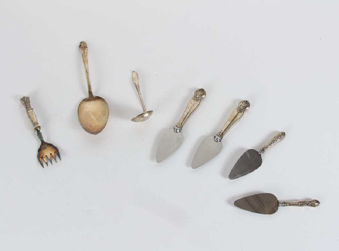 Seven Pieces of Miscellaneous Sterling Items