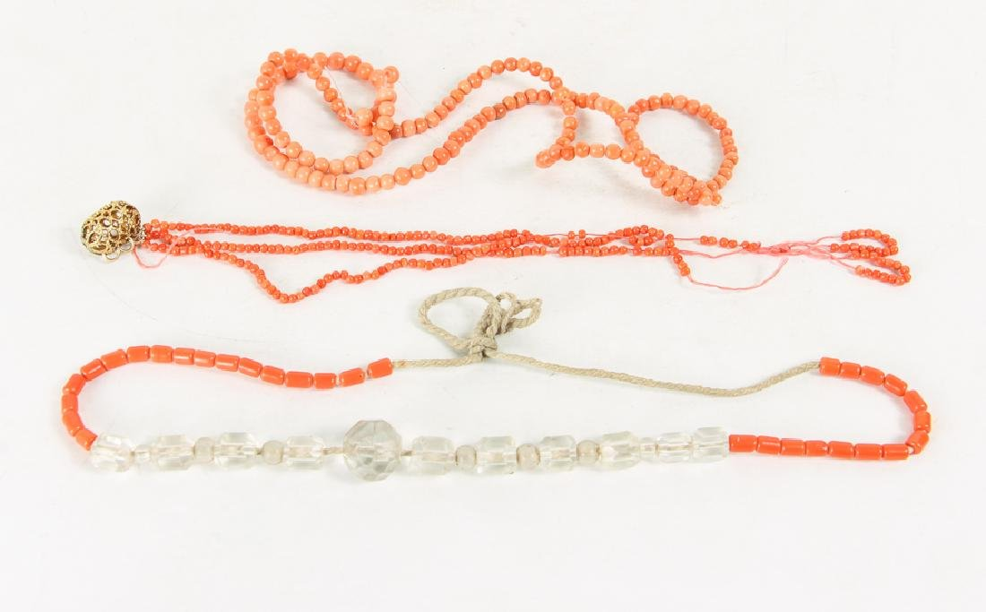 Large Group of Coral Beads - 3
