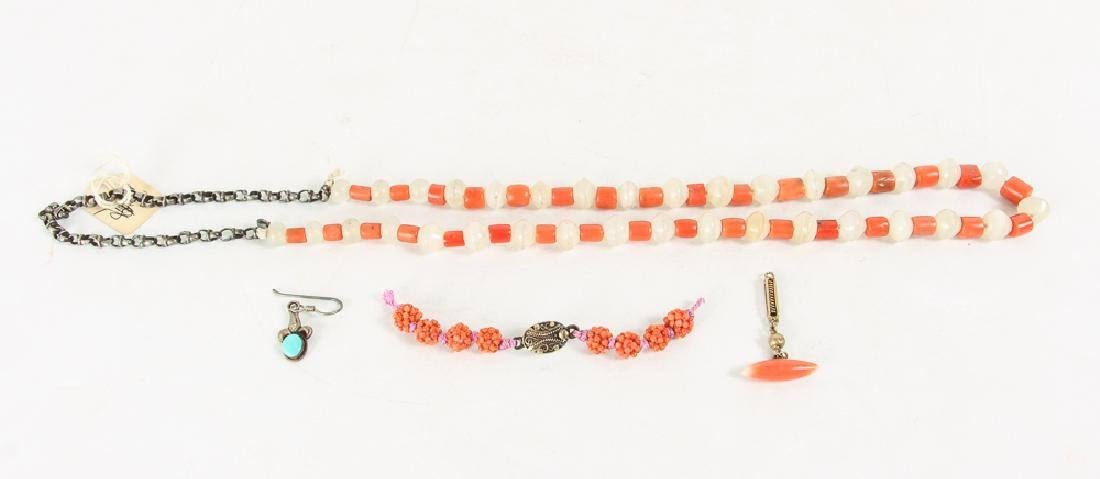 Large Group of Coral Beads - 5
