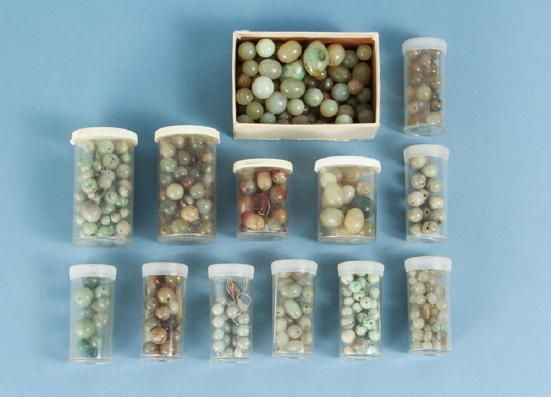 Group of Jade and Nephrite Beads