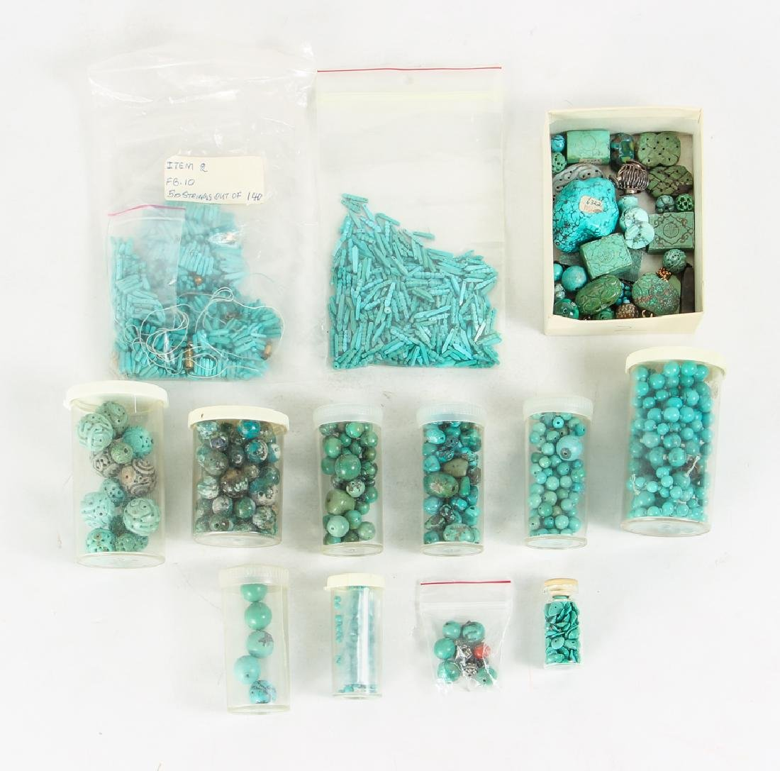 Group of Turquoise Beads