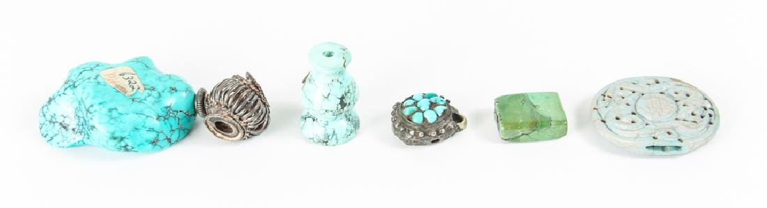 Group of Turquoise Beads - 2